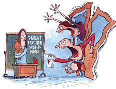 Parent Teacher Nightmare