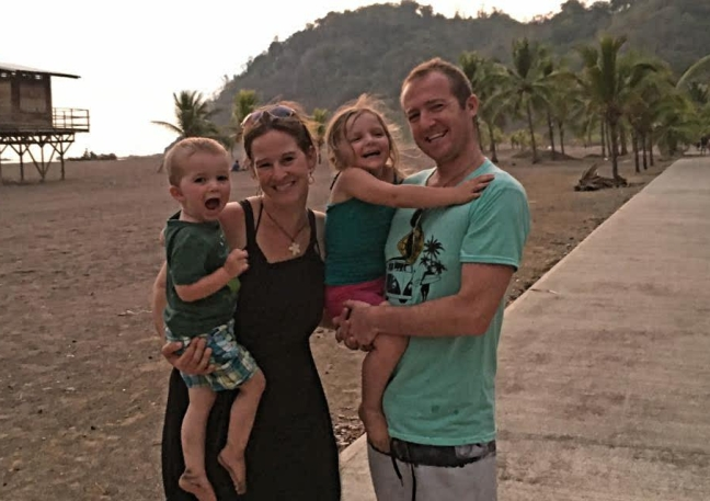 Chris Carrera and family